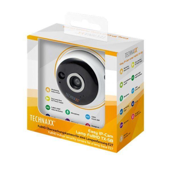 Övervakningskamera för E27 sockel