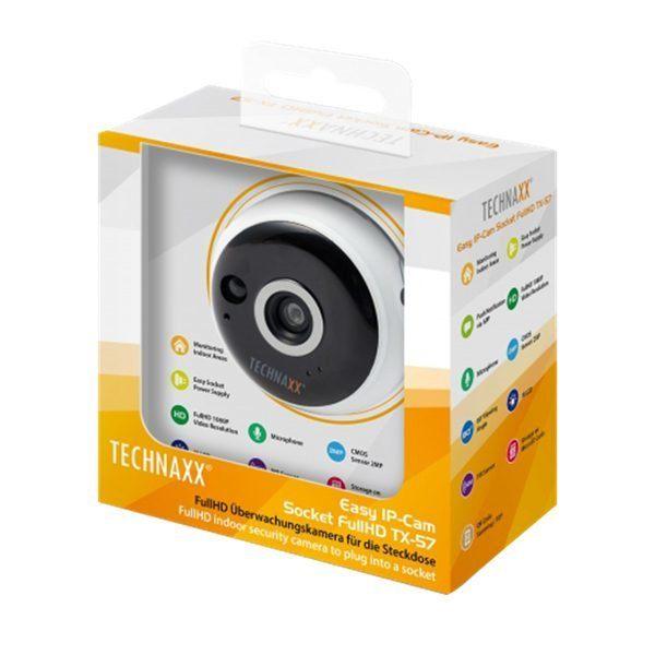 Övervakningskamera i vägguttag