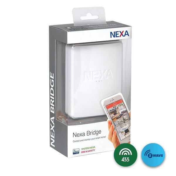 Nexa bridge med z-wave och 433Mhz