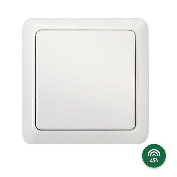 Fjärrströmbrytare vägg 433Mhz