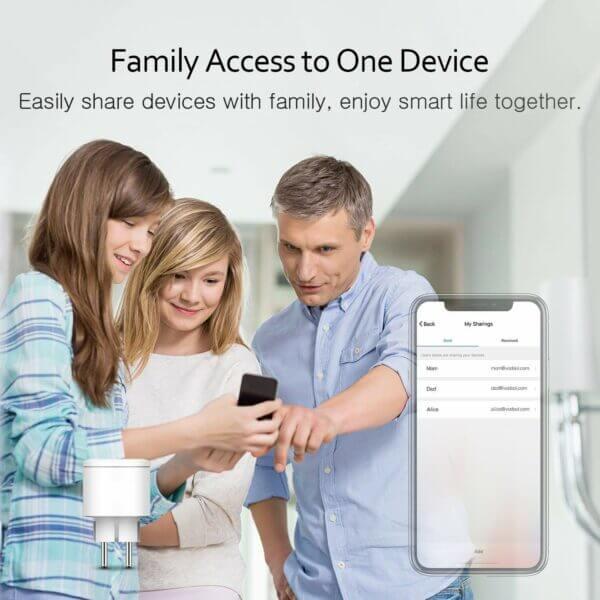 Dela åtkomst WiFi Smartplug