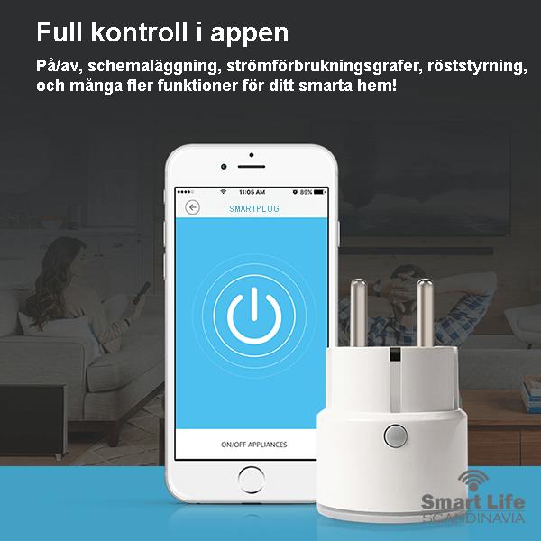 Styr hemmet från en app