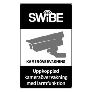 Skylt kameraövervakning