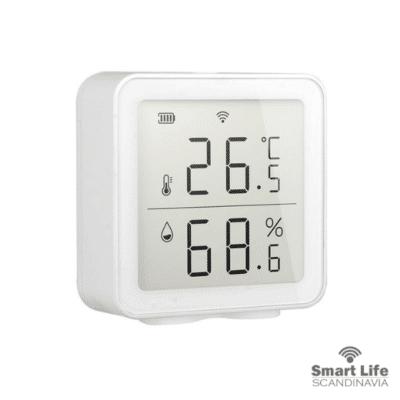 temperatursensor display och wifi